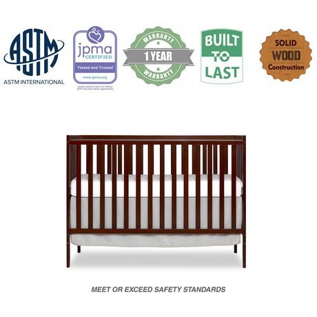 Dream On Me Synergy, 5 in 1 Convertible Crib - image 1 of 6