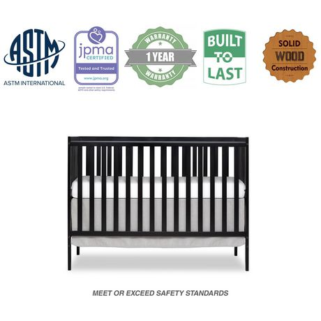 Dream On Me Synergy 5-in-1 Convertible Crib - image 1 of 9