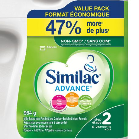 Similac Advance Step 2 Baby Formula Powder + DHA, Lutein & Vtmn E - image 2 of 9
