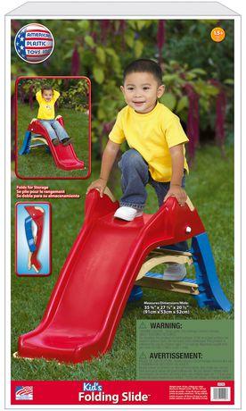 American Plastic Toys Folding Slide - image 3 of 3