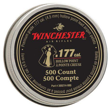 Plomb à pointe creuse Winchester .177, boîte de 500 pièces - image 1 de 1