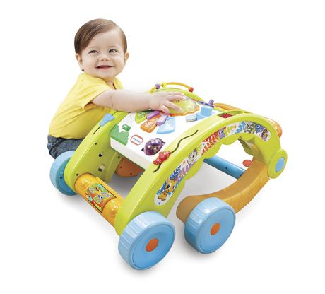 Little Tikes Light 'n Go - 3-in-1 Activity Table And Walker - image 2 of 8
