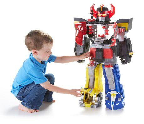 Imaginext Power Rangers Morphin Megazord Toy Walmart Canada