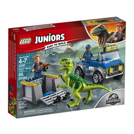 LEGO Juniors - Le camion de secours du vélociraptor (10757) - image 2 de 6