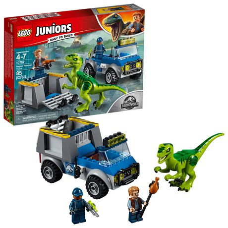 LEGO Juniors - Le camion de secours du vélociraptor (10757) - image 1 de 6