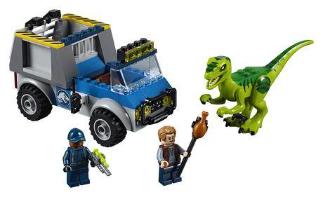 LEGO Juniors - Le camion de secours du vélociraptor (10757) - image 3 de 6