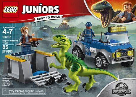 LEGO Juniors - Le camion de secours du vélociraptor (10757) - image 5 de 6