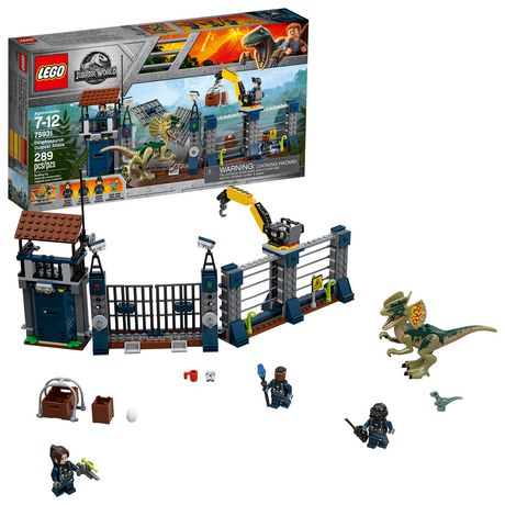 Lego Kit289 Building Dilophosaurus Jurassic Attack World Exclusive PieceWalmart 75931 Outpost rxBCQdtsh