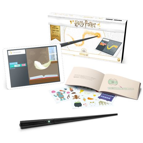 48757730a90244 Kano Harry Potter Coding Kit – Build a wand. Learn to code. Make magic