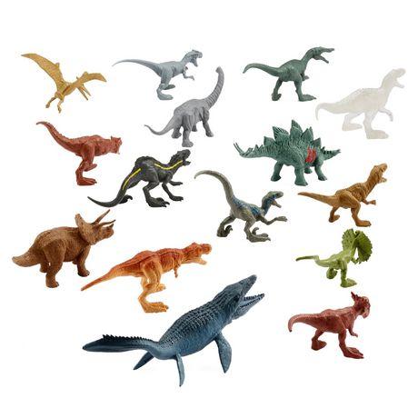 Jurassic World Battle Damage 15 mini dino Multipack 15 Dinosaurs BARGAIN