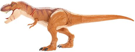 Jurassic World Battle Damage Roarin' Super Colossal Tyrannosaurus Rex Figure - image 5 of 9
