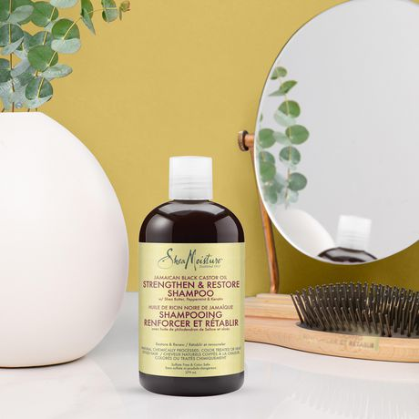 Shea Moisture Jamaican Black Castor Oil Replenishing Shampoo 379ml - image 4 of 4