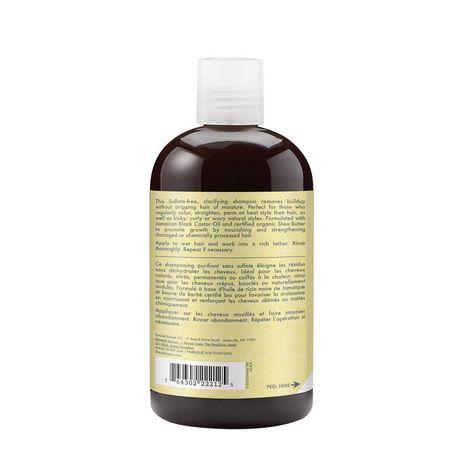 Shea Moisture Jamaican Black Castor Oil Replenishing Shampoo 379ml - image 3 of 4