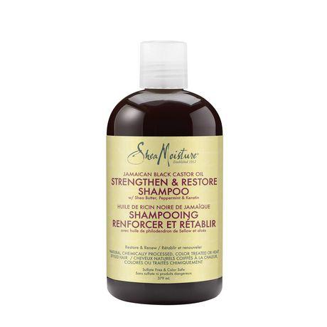 Shea Moisture Jamaican Black Castor Oil Replenishing Shampoo 379ml - image 2 of 4