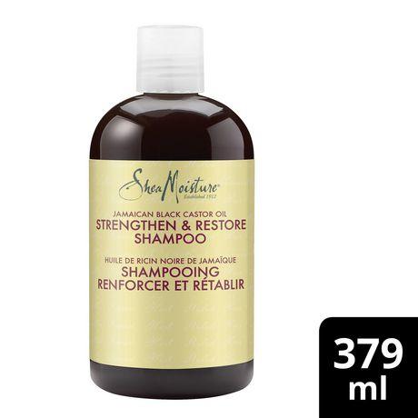 Shea Moisture Jamaican Black Castor Oil Replenishing Shampoo 379ml - image 1 of 4