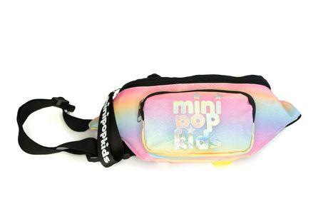 Girls Mini Pop Kids Multicolor glitter Fanny Pack - image 3 of 5