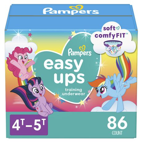 a9840d2fb Pampers Easy Ups Girls Training Pants - Giant Pack - image 1 of 8 ...