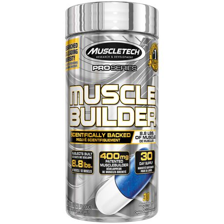 MuscleTech PRO Series Musclebuilder Capsules - image 1 of 4