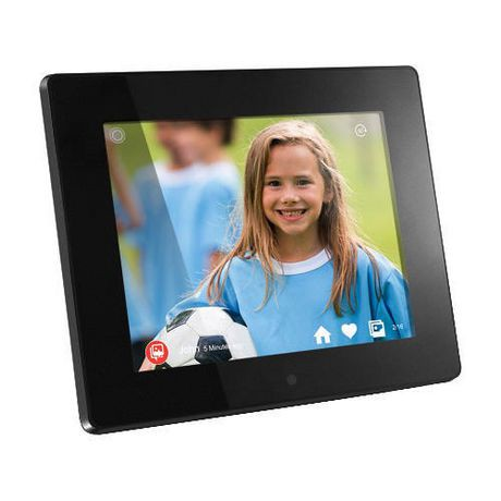Aluratek 8 Inch Wifi Digital Photo Frame with Touchscreen IPS LCD ...