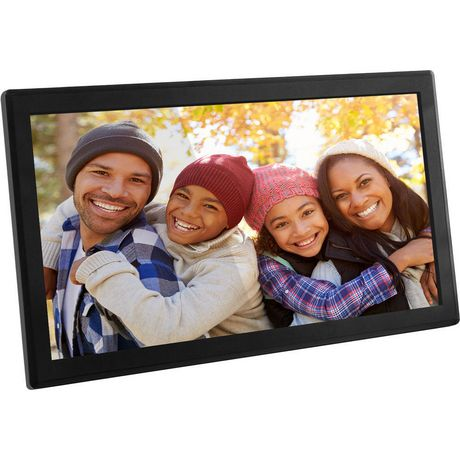 Aluratek Wifi Digital Photo Frame With Touchscreen Ips Lcd Display