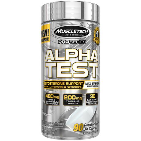 MuscleTech PRO Series Alphatest Capsules - image 1 of 4