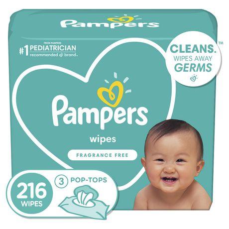 Pampers Complete Clean Unscented Wipes 3x Walmart Canada