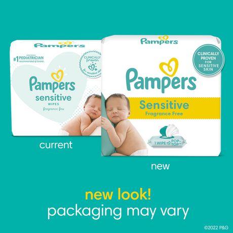 Baby Wipes Sensitive 9X Pop-Top 504 Count - image 2 of 8