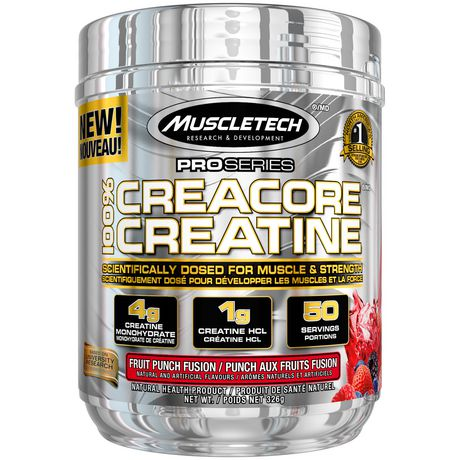 MuscleTech PRO Series Creacore Creatine Fruit Punch Fusion Powder - image 1 of 4