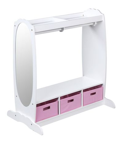 Guidecraft White Dress Up Storage Center Walmart Canada