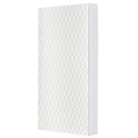 Dream On Me Breathable 6 Inch Full Size Firm Foam Crib and Toddler Bed Mattress - image 1 of 6