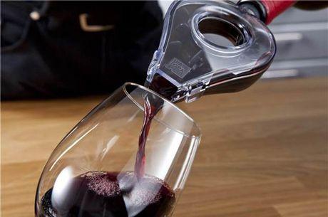 L'aérateur à vin Vacu Vin en gris foncé - image 2 de 4
