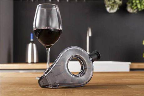 L'aérateur à vin Vacu Vin en gris foncé - image 3 de 4