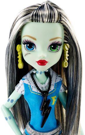 Monster High First Day Of School Frankie Stein Doll