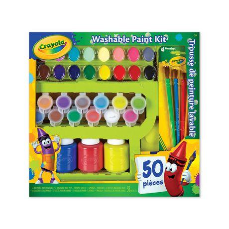 Crayola Washable Paint Kit - image 1 of 3