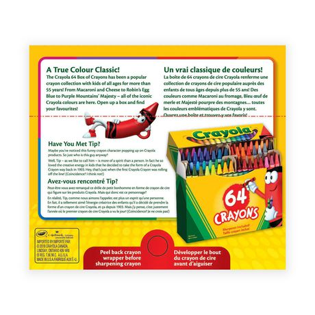 Crayola Crayons, 64 Count - image 2 of 2