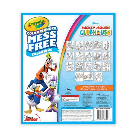 Crayola Color Wonder Mickey Mouse Clubhouse Mess Free Colouring Pad - image 2 of 2