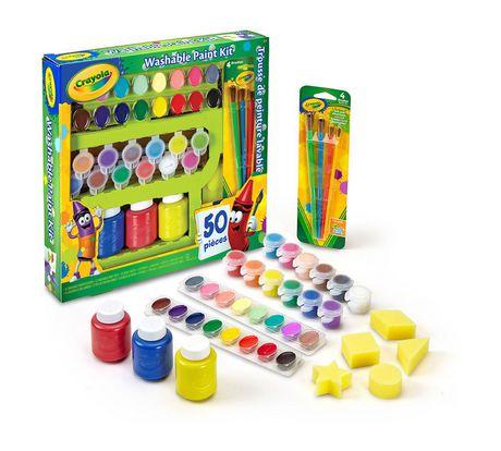 Crayola Washable Paint Kit - image 3 of 3