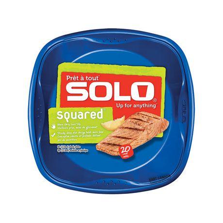 Solo® Squared™ 9 in. Plastic Plates  sc 1 st  Walmart Canada & Solo® Squared™ 9 in. Plastic Plates | Walmart Canada