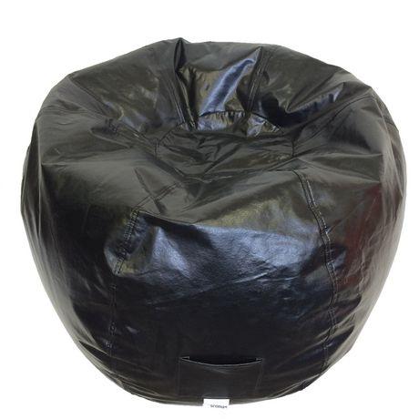 Fauteuil poire rond en vinyle pour adultes de Boscoman - image 1 de 1