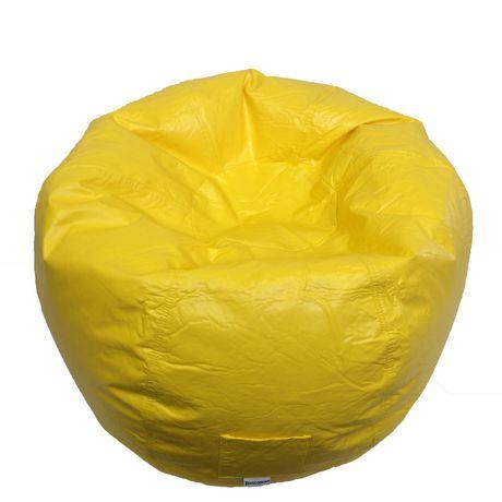 Boscoman Adult Round Vinyl Beanbag Chair - image 1 of 1