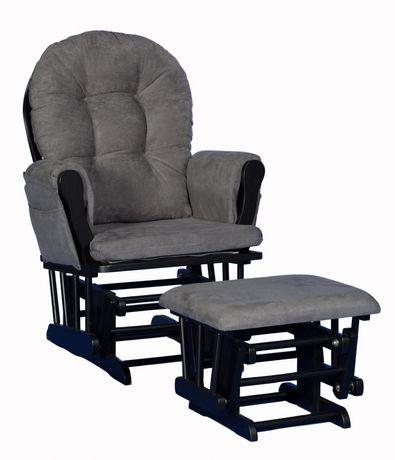 chaise ber ante avec tabouret comfort de storkcraft finition noire walmart canada. Black Bedroom Furniture Sets. Home Design Ideas