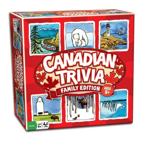 Canadian Trivia: Family Edition - image 1 of 1