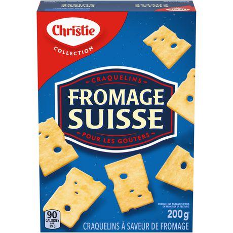 Swiss Cheese Crackers - image 1 of 2