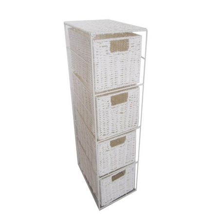 hometrends Paper Rope 4-Drawer Storage Unit - image 1 of 1