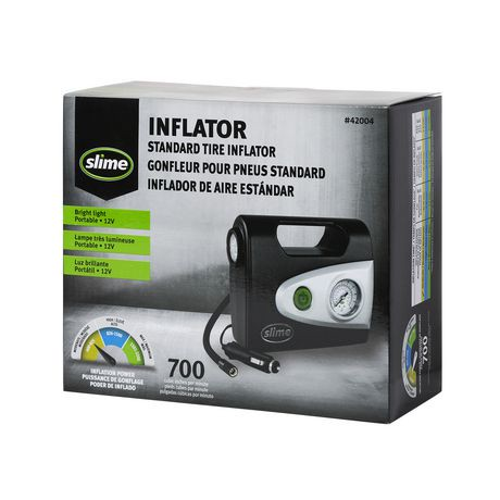Slime Tire Inflator with Light | Walmart Canada