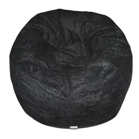 Boscoman Teen Faux Suede Beanbag Chair
