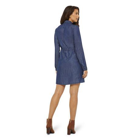 George Women's Denim Shirt Dress - image 3 of 6