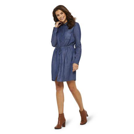 George Women's Denim Shirt Dress - image 5 of 6