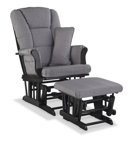 chaise ber ante haut de gamme avec tabouret de storkcraft finition noire walmart canada. Black Bedroom Furniture Sets. Home Design Ideas