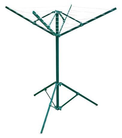 Corde linge rotative portable pour l 39 ext rieur de for Installer corde a linge